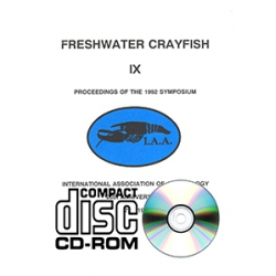 Freshwater Crayfish v.9 CD-ROM
