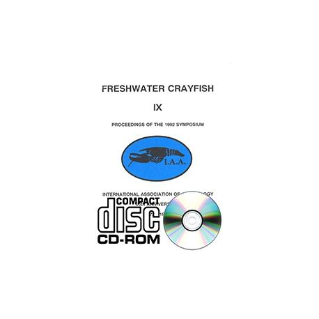 Freshwater Crayfish v.9 CD-ROM