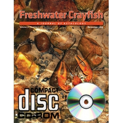 Journal Freshwater Crayfish v.21 CD-ROM