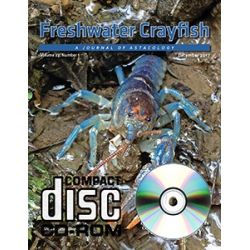 Journal Freshwater Crayfish v.22 CD-ROM